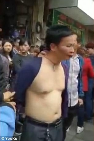 Teacher publicly shamed for sexual harassment in China